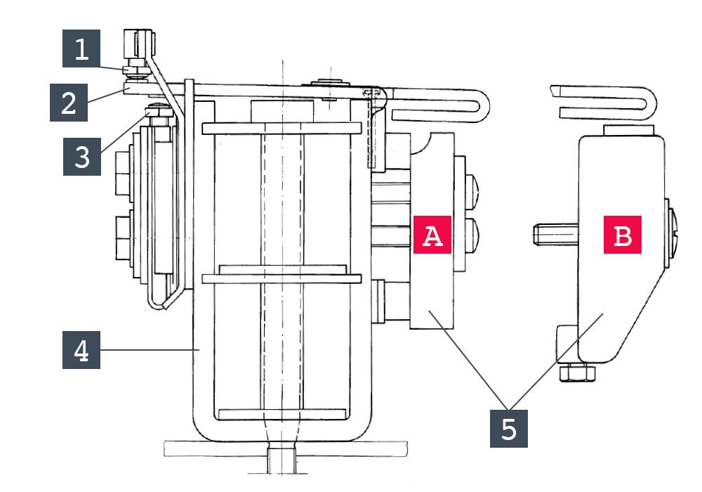 Schéma d'un relais de mesure